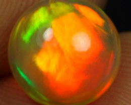 2.95cts Full Saturation Strong Fire Ethiopian Opal