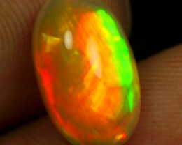 3.50cts Top 5/5 Strong Color Play Ethiopian Opal