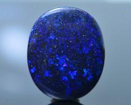 24.85 ct Great Blue Flash Andamooka Matrix Opal  SKU.4