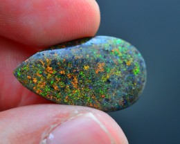 7.82 ct Great Flash Andamooka Matrix Opal SKU.4