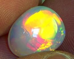 5.30 cts Ethiopian Welo CHAFF STRAW opal N7 4,5/5