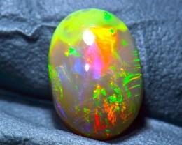 2.71ct Dark Brown Natural Ethiopian Welo Opal