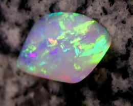 3.64ct EXTR BRIGHT 2-SIDED MULTI PATERN CRYSTAL OPAL