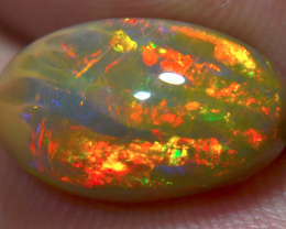 3.42 Brilliant Dark Fiery Welo Ethiopian Opal