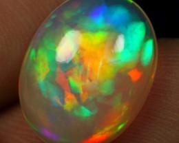 AAA 4.30cts NEON PATCHWORK Natural Ethiopian Welo Opal