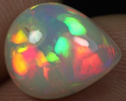 3.90cts AMAZING FLORAL PETAL Natural Ethiopian Welo Opal