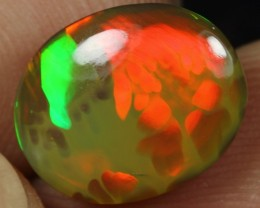 3.35cts BROWN BASED BUMBLEBEE Natural Ethiopian Welo Opal