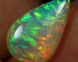 2.00cts EXQUISITE RIBBON PATTERN Natural Ethiopian Welo Opal
