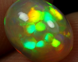 AAA 1.80cts DRAGON SCALE HONEYCOMB Natural Ethiopian Welo Opal