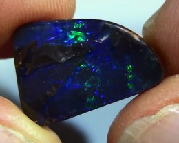 10.75 ct Boulder Opal Natural Blue Green Color