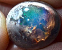 15.9ct Specimen Natural Mexican Matrix Cantera Multicoloured Fire Opal