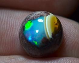 5.87ct Natural Mexican Matrix Cantera Multicoloured Fire Opal