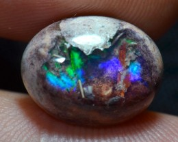 6.72ct Natural Mexican Matrix Cantera Multicoloured Fire Opal