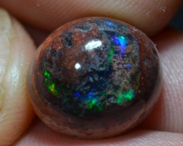 9.33ct Natural Mexican Matrix Cantera Multicoloured Fire Opal