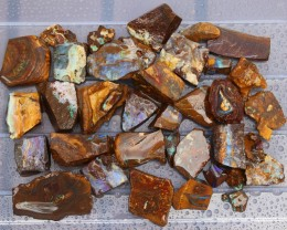 .490 kilo Parcel 36 pieces Rough Opal Boulder SU337
