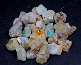 NR Lot 02 ~ 96Ct Welo Opal Rough Wholesale Lot