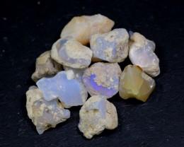 NR Lot 05 ~ 87Ct Welo Opal Rough Wholesale Lot