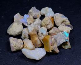 NR Lot 06 ~ 123Ct Welo Opal Rough Wholesale Lot