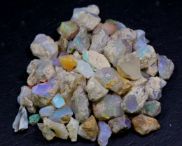 NR Lot 08 ~ 143Ct Welo Opal Rough Wholesale Lot