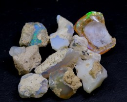 NR Lot 17 ~ 144Ct Welo Opal Rough Wholesale Lot