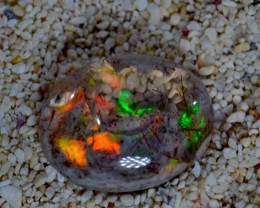 Awesome Mexican Boulder Fire Opal Cantera Matrix Rhyolite