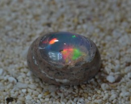 Unique Mexican Boulder Fire Opal Cantera Matrix Rhyolite