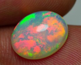 2.35 CRT GORGEOUS BROADFLASH METTALIC FIRE PLAY COLOR WELO OPAL