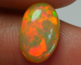 2.20 CRT CARAMEL FLAGSTONE NEON FIRE COLOR FLASH WELO OPAL