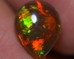 3.00 CT TOP GEM! BEAUTIFUL FLASHY MULTI COLOR ETHIOPIAN OPAL-AD24