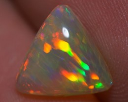 1.64 CT TOP GEM! BEAUTIFUL FLASHY MULTI COLOR ETHIOPIAN OPAL-AD38