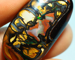 24.55CT DOUBLE SIDED KOROIT BOULDER OPAL SS0764