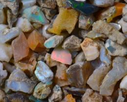 Nice Rough Fossil Opal Rough 60ct Parcel Estayish Mines Ethiopia NR Lot