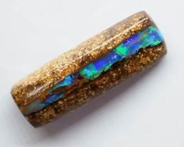 15.00CT VIEW WOOD REPLACEMENT BOULDER OPAL RI134