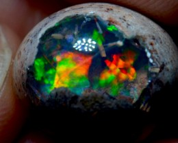 16.5ct Top colored Mexican Matrix Opal Specimen