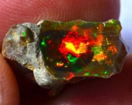 11.12ct Bright Natural Ethiopian Welo Supreme Opal