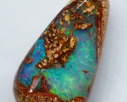 4.50CT VIEW PIPE  WOOD REPLACEMENT BOULDER OPAL RI208
