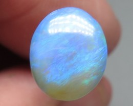 1.87Ct Lightning Ridge Black Crystal Opal stone