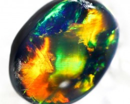 0.40 Cts Nice Black Opal N2  SU 497