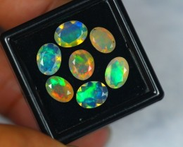 3.35Ct Natural Ethiopian Welo Faceted Opal Lot N14