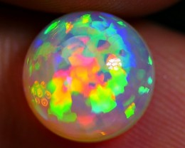 2.25 CRT INCREDIBLE DELUXE ROUND PUZZLE RAINBOW NEON WELO OPAL