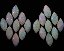 6.94 CTS WHITE FIRE OPAL CALIBRATED PARCEL[SEDA350]