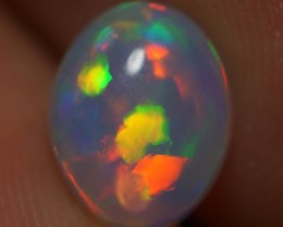 1.16 CT ROLLING FLASH ! EXCLUSIVE FLASHY MULTI COLOR ETHIOPIAN OPAL-AD61