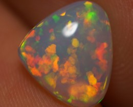 1.67 CT ROLLING FLASH ! EXCLUSIVE FLASHY MULTI COLOR ETHIOPIAN OPAL-AD70