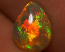 1.71 CT AAA QUALITY BEAUTIFUL FLASHY MULTI COLOR ETHIOPIAN OPAL-AD71