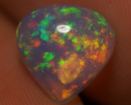 2.31 CT EXQUISITE QUALITY BEAUTIFUL FLASHY MULTI COLOR ETHIOPIAN OPAL-AD75