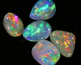 1.05Cts Nice  semi Black Opal Parcel   SU 545
