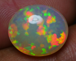 4.85 CRT GORGEOUS MILKY BASE PERFECT CHAFF PATTERN WELO OPAL