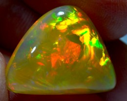 11.27CT BRIGHT ETHIOPIAN WELO OPAL CHAFF PATTERN