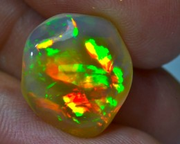 8.05CT TOP QUALITY CHAFF BRIGHT CARVED  ETHIOPIAN WELO OPAL