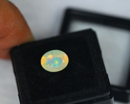 1.38Ct Natural Ethiopian Welo Faceted Opal Lot N38